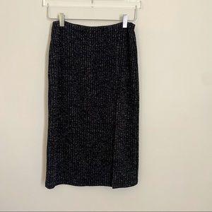 REVOLVE NBD kendra metallic pencil skirt SMALL
